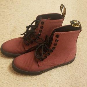 EUC /Dr. Martens hi-top kids shoes size 13